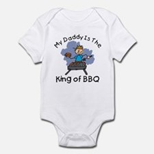 BBQ King Daddy Infant Bodysuit