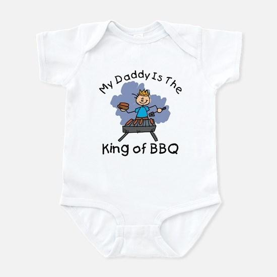 BBQ King Daddy Infant Bodysuit