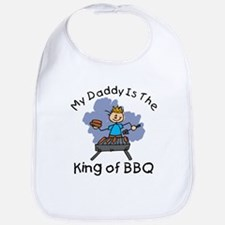 BBQ King Daddy Bib