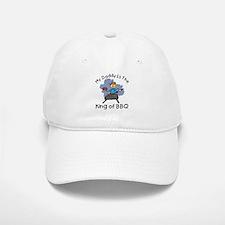 BBQ King Daddy Baseball Baseball Cap
