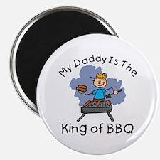 BBQ King Daddy Magnet