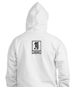 INK White Pullover Hoodie