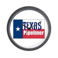 Texas Pipeliner Wall Clock
