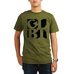 GLBT Black Pop Organic Men's T-Shirt (dark)