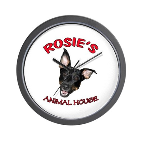 Rosie's Face Wall Clock
