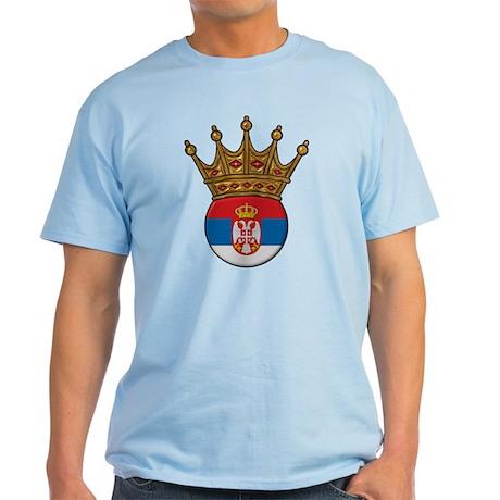 King Of Serbia Light T-Shirt