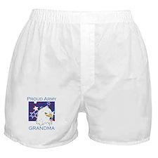 Proud Army Grandma Boxer Shorts
