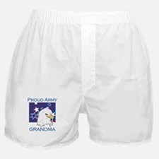 Proud Army Grandma Boxer Shorts