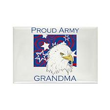Proud Army Grandma Rectangle Magnet