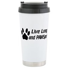 Live Long And Pawsper Travel Coffee Mug