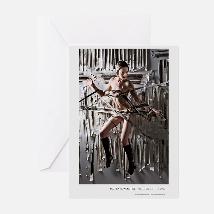 All Taped Up, Pt. II Greeting Cards (Pk of 10)