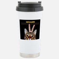 Cat-A-Lope Stainless Steel Travel Mug
