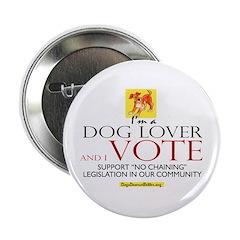 Dog Lover & I Vote 2.25