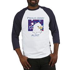Proud Army Aunt Baseball Jersey