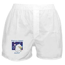 Proud Army Aunt Boxer Shorts
