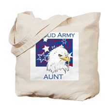 Proud Army Aunt Tote Bag