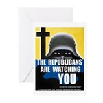 The GOP Is Watching! Greeting Cards (Pk of 10)