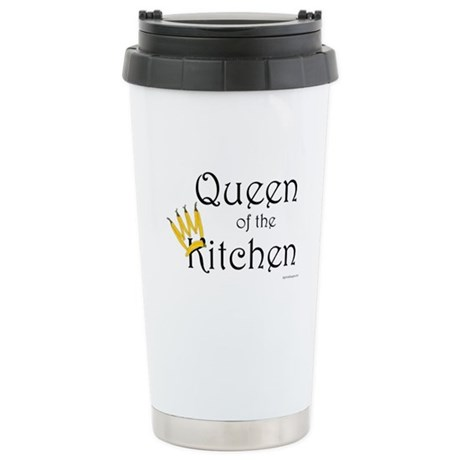 Queen of the Kitchen Stainless Steel Travel Mug