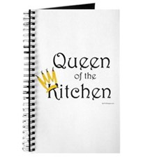 Queen of the Kitchen recipe journal or notepad