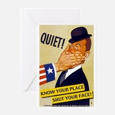 Quiet! Greeting Cards (Pk of 10)