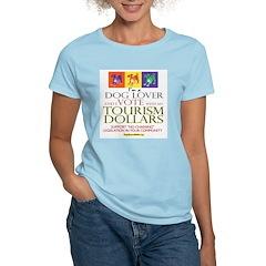 Dog Lover & I Vote: Tourism T-Shirt