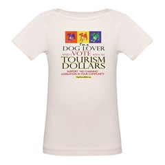 Dog Lover & I Vote: Tourism Tee