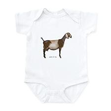 Nubian Dairy Goat Infant Bodysuit