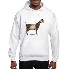 Nubian Dairy Goat Hoodie