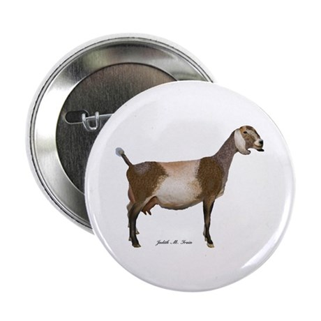 """Nubian Dairy Goat 2.25"""" Button (10 pack)"""