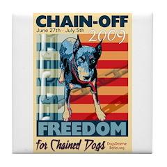 Chain Off 2009 Tile Coaster