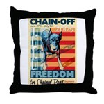 Chain Off 2009 Throw Pillow