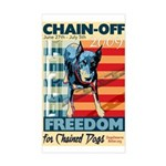 Chain Off 2009 Rectangle Sticker