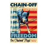 Chain Off 2009 Postcards (Package of 8)