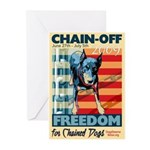 Chain Off 2009 Greeting Cards (Pk of 10)