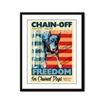 Chain Off 2009 Framed Panel Print