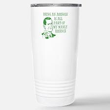 Green Being An Asshole Travel Mug