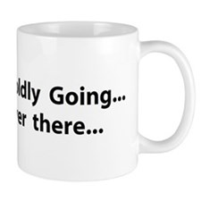 Boldly going over there Mug