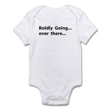 Boldly going over there Infant Bodysuit