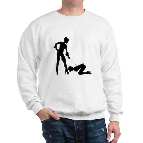 Lesbian submissive Boot Kiss Sweatshirt