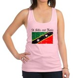 St kitts Womens Racerback Tanktop