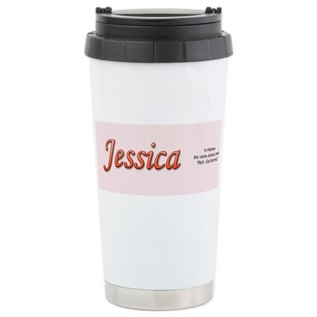 Jessica Stainless Steel Travel Mug
