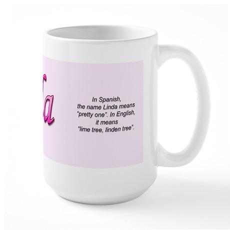 Linda Large Mug