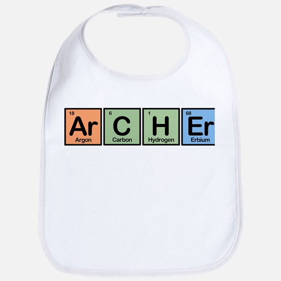 Archer made of Elements Bib