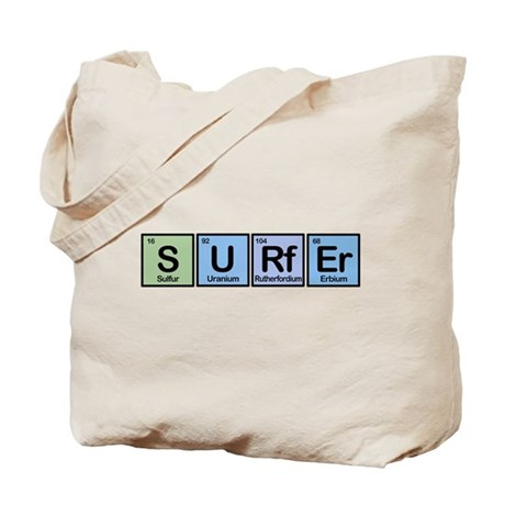 Surfer made of Elements Tote Bag