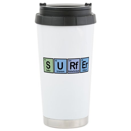 Surfer made of Elements Stainless Steel Travel Mug