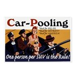 Carpooling Postcards (Package of 8)