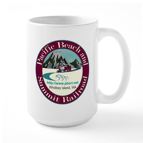 PB&S RR Large Mug
