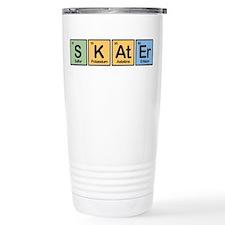 Skater made of Elements Travel Mug