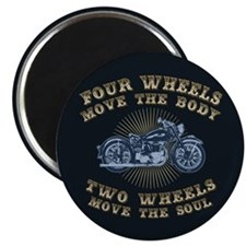 2 Wheels Move IV Magnet