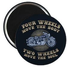 2 Wheels Move IV Magnet